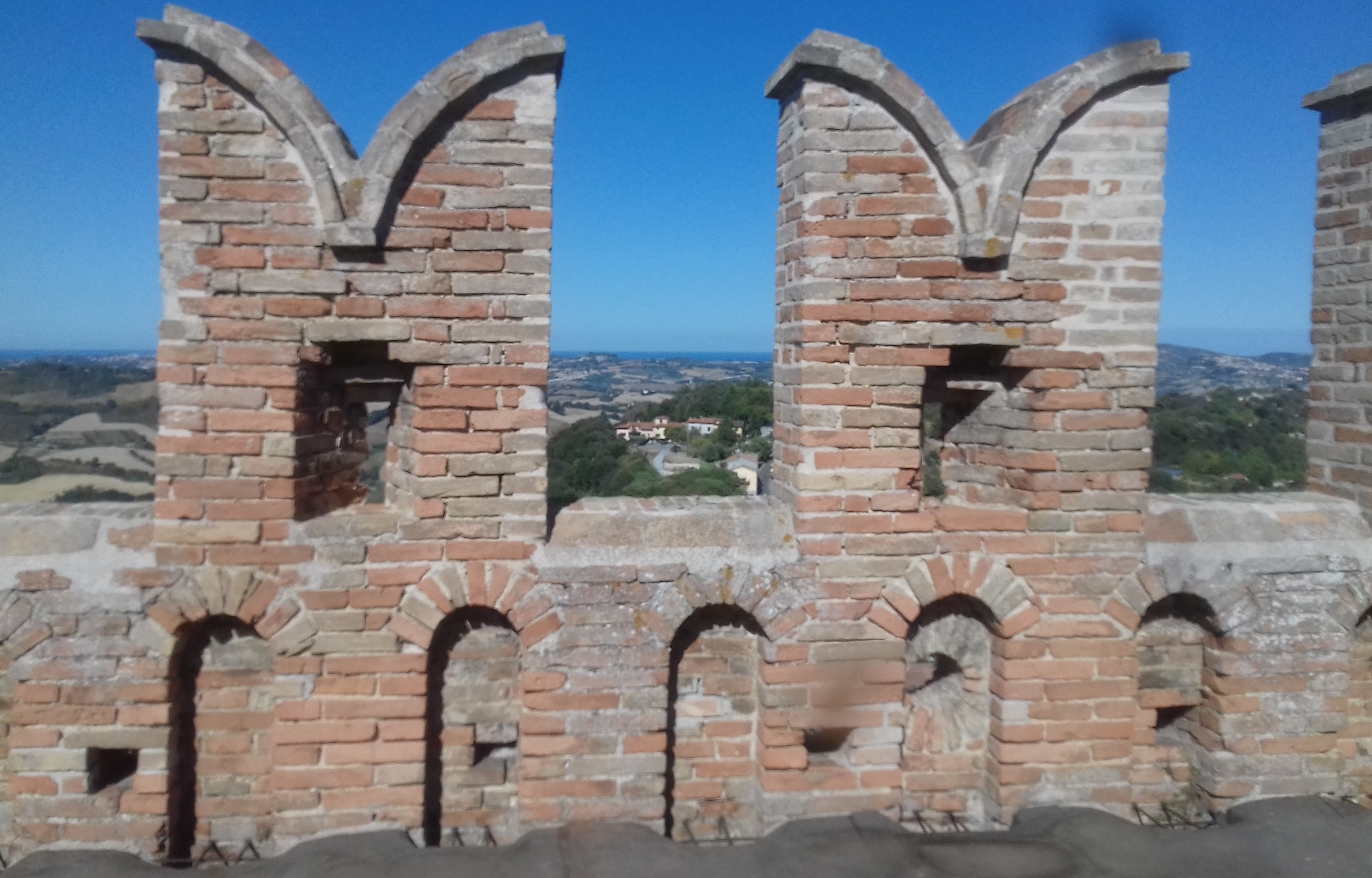 The Englishwoman visits Offagna